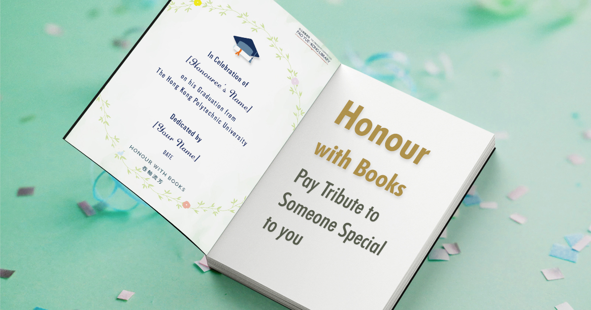 Honour with Books
