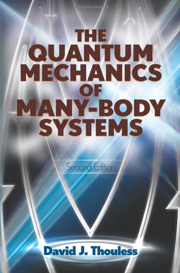 The quantum mechanics of many-body systems