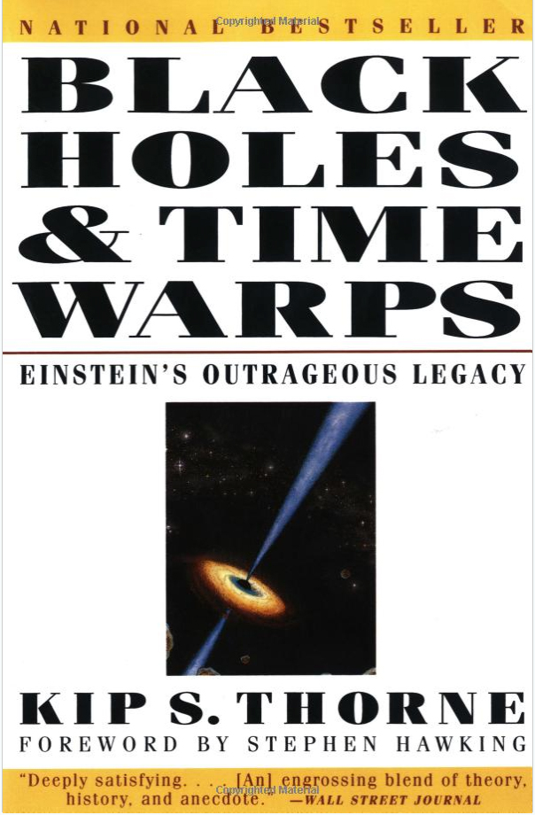 1.	Black holes and time warps : Einstein's outrageous legacy