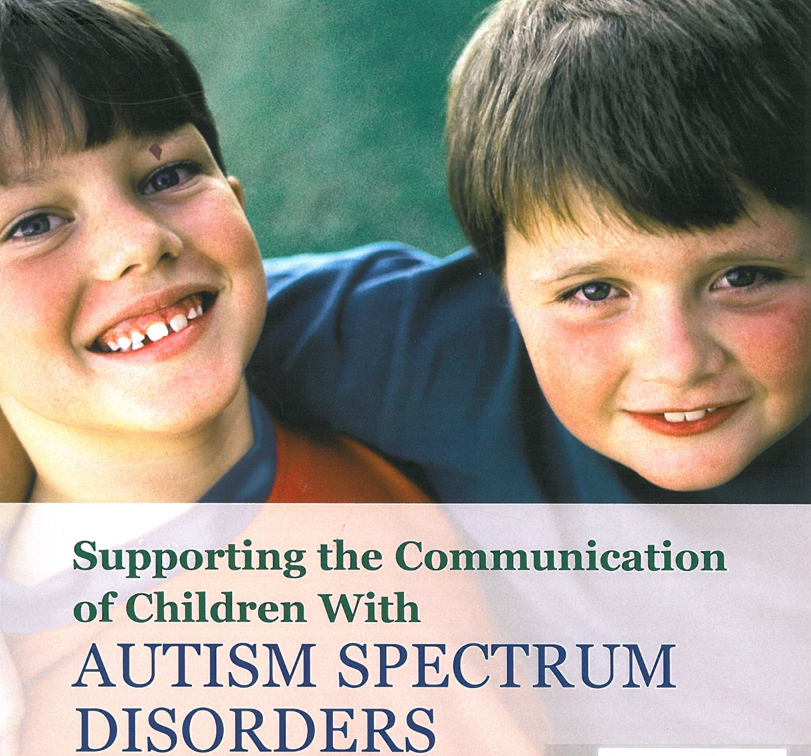Supporting the communication of children with autism spectrum disorders