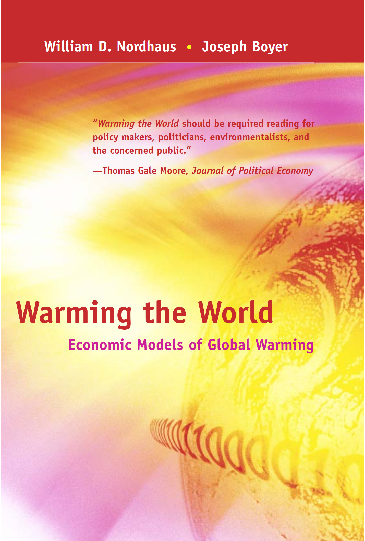 19. Warming the world economic models of global warming