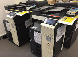 Colour printers / copiers