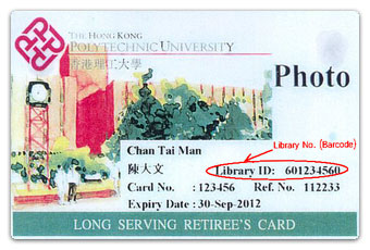 Long Serving Retiree's Card