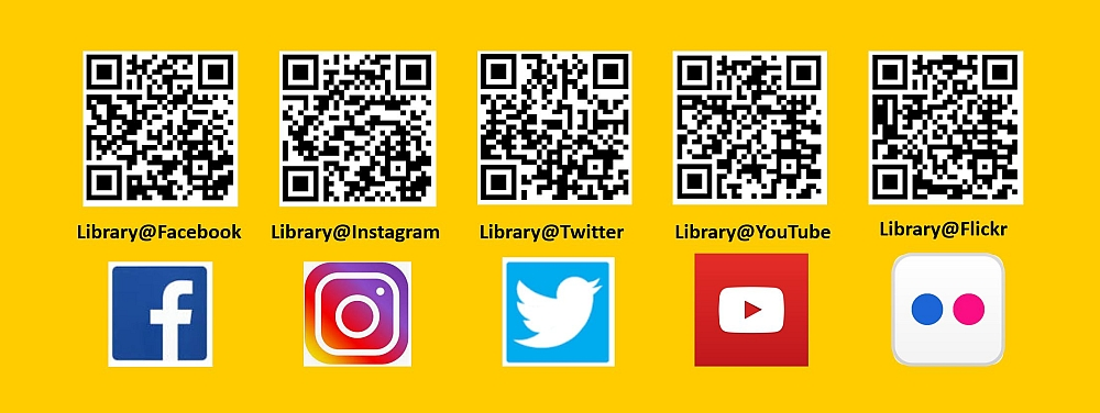 Follow Us On Social Media Library Newsletter Using The Library 2019 September