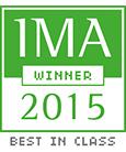 IMA 2015 Winner logo